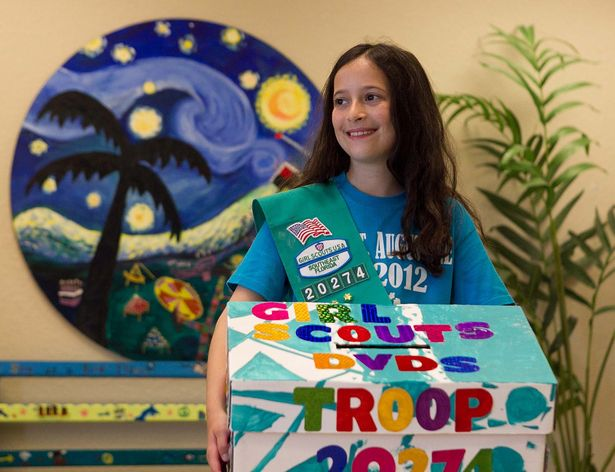 North Palm Beach Girl Aims to Collect 100 DVDs to Keep Sick Kids Entertained (The Palm Beach Post)