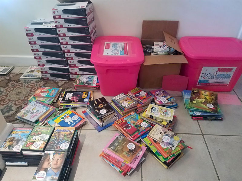 South Florida Girl Collects DVDs to Help Sick Kids (WPLG-TV)
